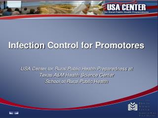 Infection  Control for  Promotores