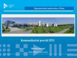Komunikační portál ZČU