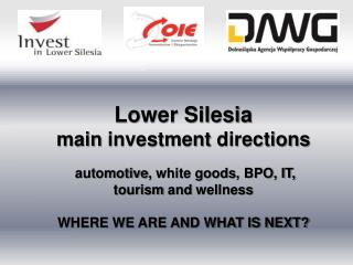 Lower Silesia  main investment  directions