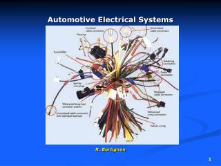 Automotive Electrical Systems