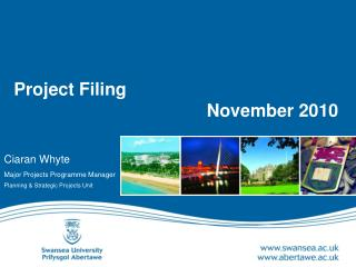 Project Filing     November 2010