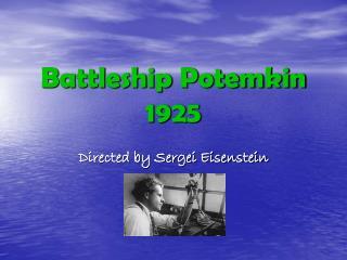 Battleship Potemkin 1925