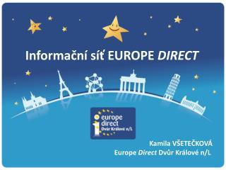 Informační síť EUROPE  DIRECT