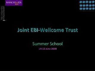 Joint EBI-Wellcome Trust