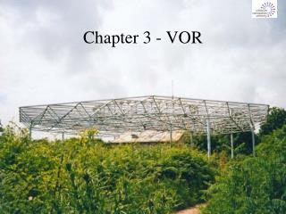 Chapter 3 - VOR