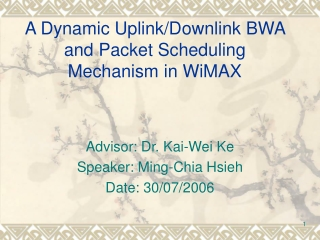 WiMax Overview