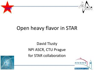 Open heavy flavor in STAR
