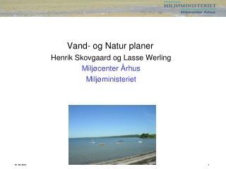 Vand- og Natur planer