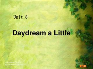 Daydream a Little