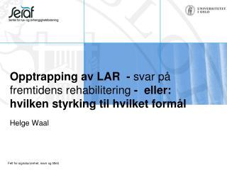 Helge Waal