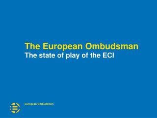 The European Ombudsman
