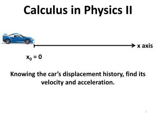 Calculus in Physics II