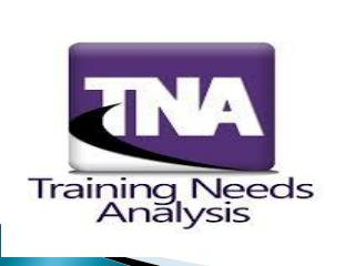 Why conducts TNA?
