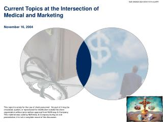 Current Topics at the Intersection of Medical and Marketing November 16, 2004