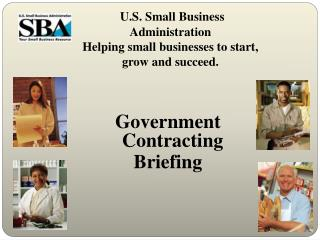 U.S. Small Business Administration  Helping small businesses to start, grow and succeed.