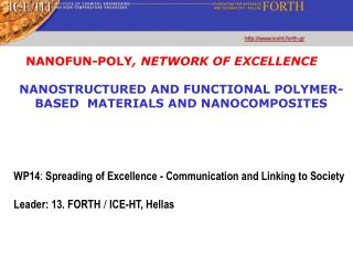 NANOSTRUCTURED AND FUNCTIONAL POLYMER-BASED  MATERIALS AND NANOCOMPOSITES
