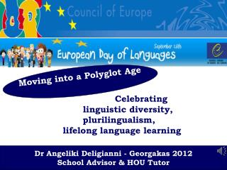 Celebrating  linguistic diversity,    plurilingualism,