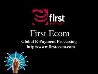 First Ecom