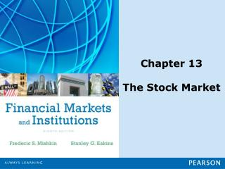 Chapter 13 The Stock Market