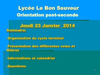Lycée Le Bon Sauveur