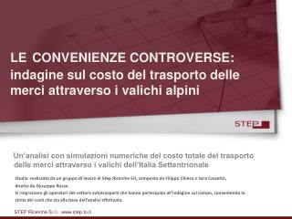 STEP Ricerche S.r.l.  step.to.it
