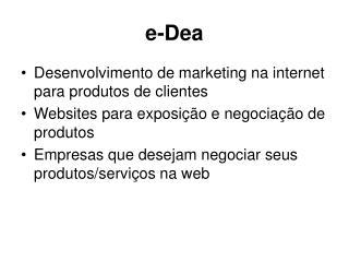 e-Dea