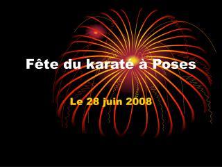 F te du karat    Poses 28062008