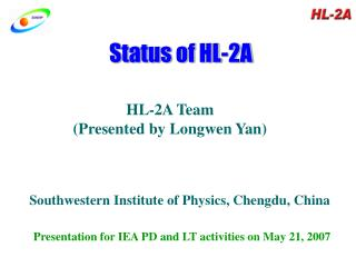 Status of HL-2A