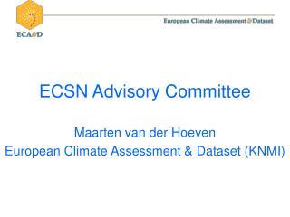 ECSN Advisory Committee