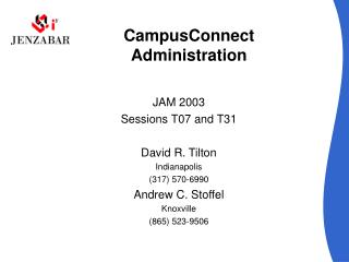 CampusConnect Administration