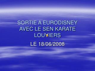 Sortie Eurodisney 18 juin 2008