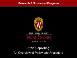 Research & Sponsored Programs