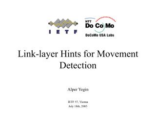 Link-layer Hints for Movement Detection