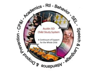 Review the Campus Child Study System Process
