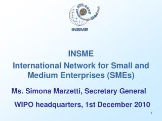 INSME International Network for Small and Medium Enterprises (SMEs)