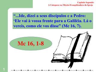 Capítulo Segundo: A Catequese na Missão Evangelizadora da Igreja