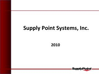 Supply Point Systems, Inc.