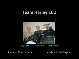 Team Harley ECU