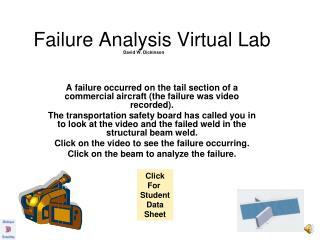 Failure Analysis Virtual Lab