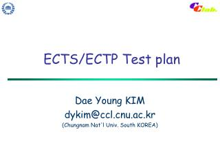 ECTS/ECTP Test plan
