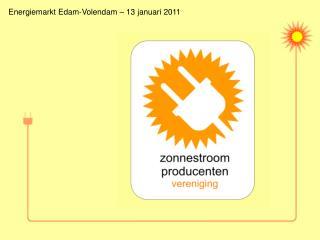 Energiemarkt Edam-Volendam – 13 januari 2011