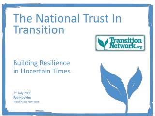 The National Trust In Transition