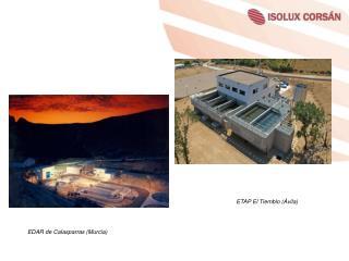 EDAR de Calasparras (Murcia)