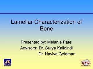 Lamellar Characterization of Bone