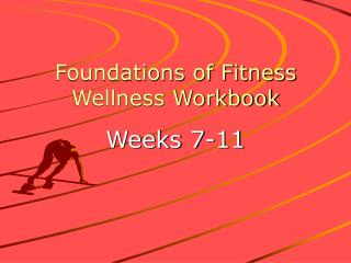 Foundations of Fitness Wellness Workbook