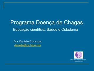 Programa Doen�a de Chagas