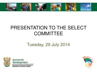 PRESENTATION TO THE SELECT COMMITTEE
