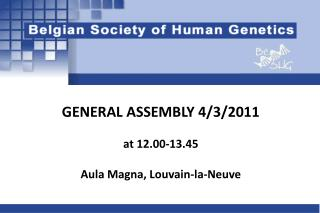 GENERAL ASSEMBLY 4