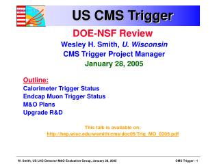 US CMS Trigger