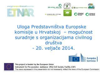 Predstavni�tvo EK-a u Hrvatskoj